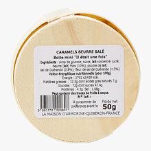Soft salted butter caramels La Maison d'Armorine