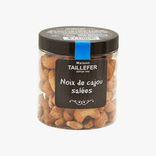 Toasted, salted cashews Maison Taillefer