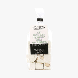 Flanders soft almond nougat La Grande Épicerie de Paris