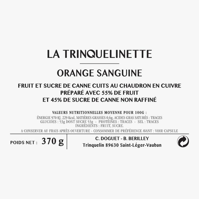 Blood orange marmalade La Trinquelinette