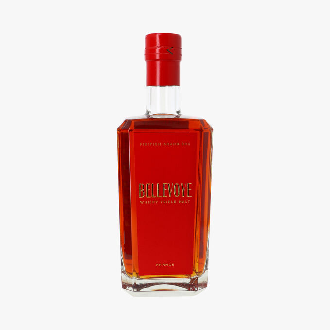 Whisky Bellevoye Rouge triple malt Bellevoye Whisky