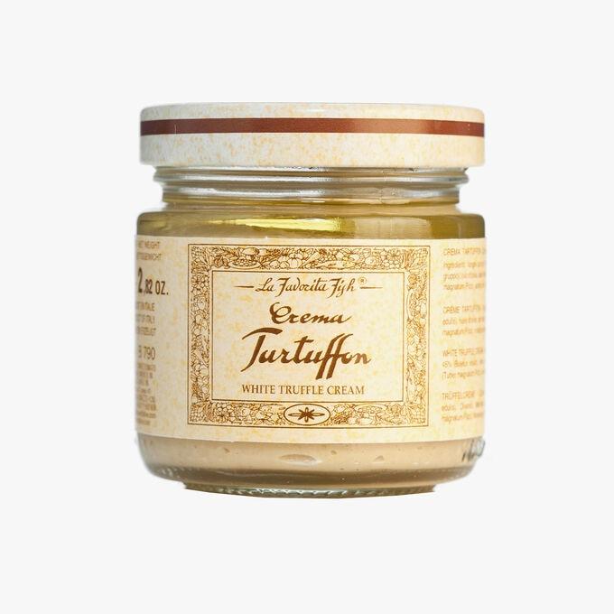 White truffle (Tuber magnatum pico) 1.5 % cream sauce  La Favorita
