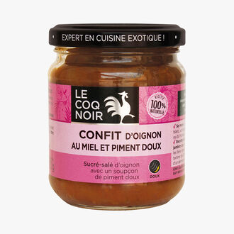 Onion confit with honey and paprika Le Coq Noir