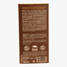 Large hazelnut milk chocolate bar Michel Cluizel