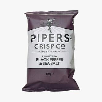 Chips au poivre noir Pipers Crisp Co