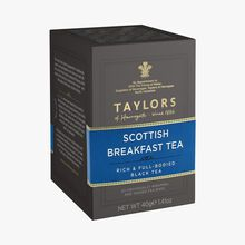 Thé noir Scottish Breakfast - 20 sachets Taylor's of Harrogate