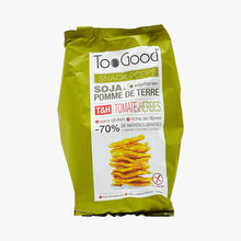 Puffed snack - Soya & potato - Tomato & herb flavour Too good
