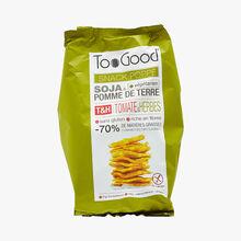 Snack poppé - Soja & pomme de terre - Saveur tomates & herbes Too good
