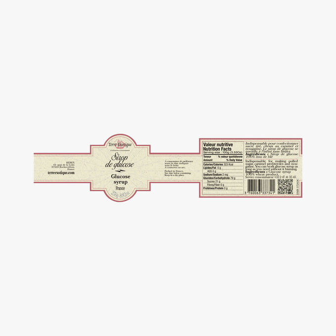 Glucose syrup Terre Exotique