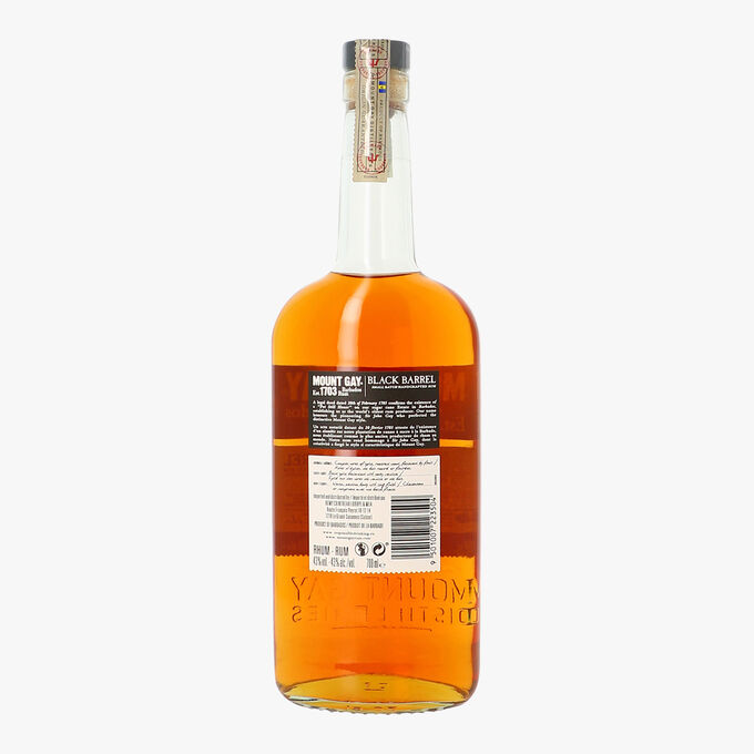 Rhum Mount Gay Black Barrel Jamaïque Mount Gay