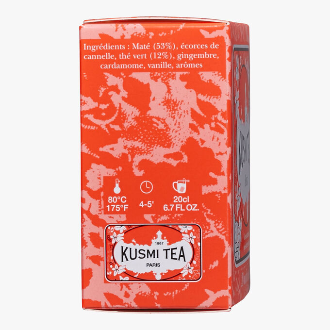 Boost tin of 20 teabags  Kusmi Tea