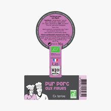 Pure pork terrine with figs Bio du bocal