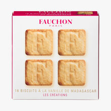 16 biscuits à la vanille de Madagascar Fauchon