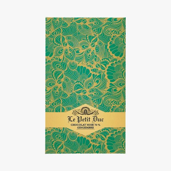 Dark chocolate 70%, Ginger Le Petit Duc