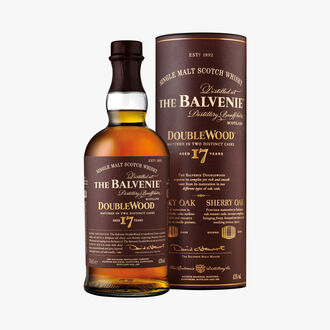 The Balvenie 17 Year Old DoubleWood Whisky The Balvenie