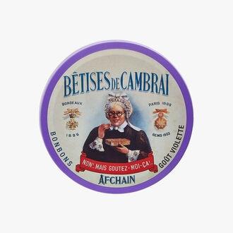 Les Bêtises de Cambrai - violet flavour sweets Afchain