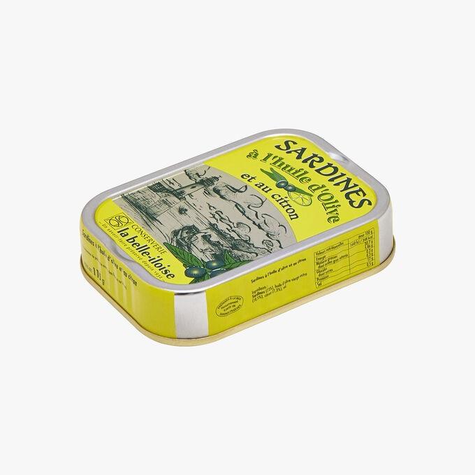 Sardines à l'huile d'olive et au citron Conserverie la Belle-Iloise