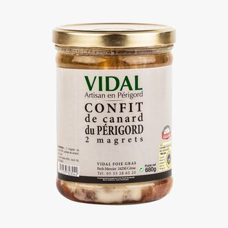 Confit de magret de canard du Périgord - 2 magrets Vidal