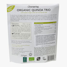 Quinoa Trio with Extra Virgin Olive Oil & Sea Salt Clearspring