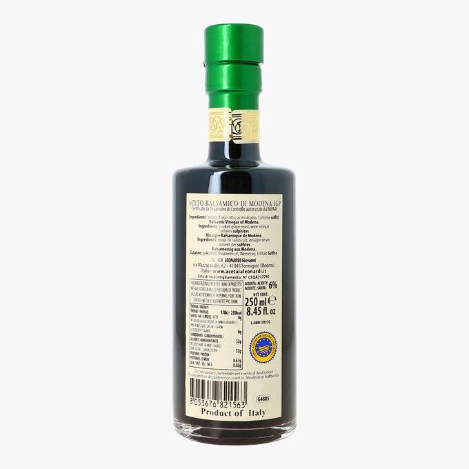 Vinaigre balsamique de Modène - Aceto Balsamico di Modena IGP Leonardi