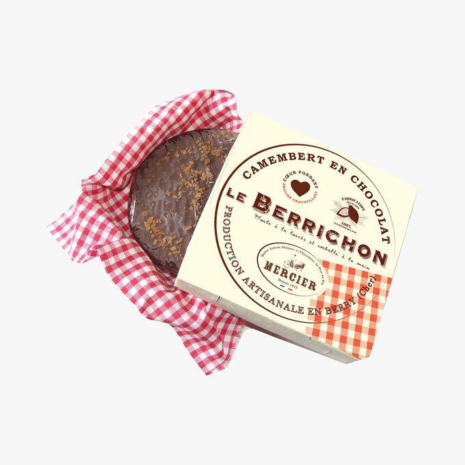 Bérrichon: chocolate camembert 1912 range Daniel Mercier