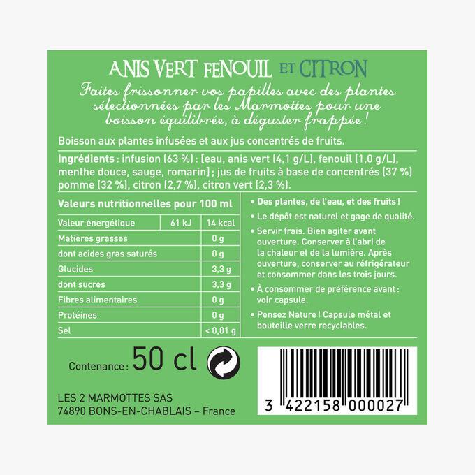 Ze Fresh Touch Anis vert, fenouil et citron Les 2 Marmottes