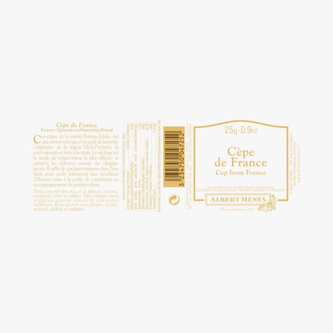 Cèpes de France en morceaux Albert Ménès