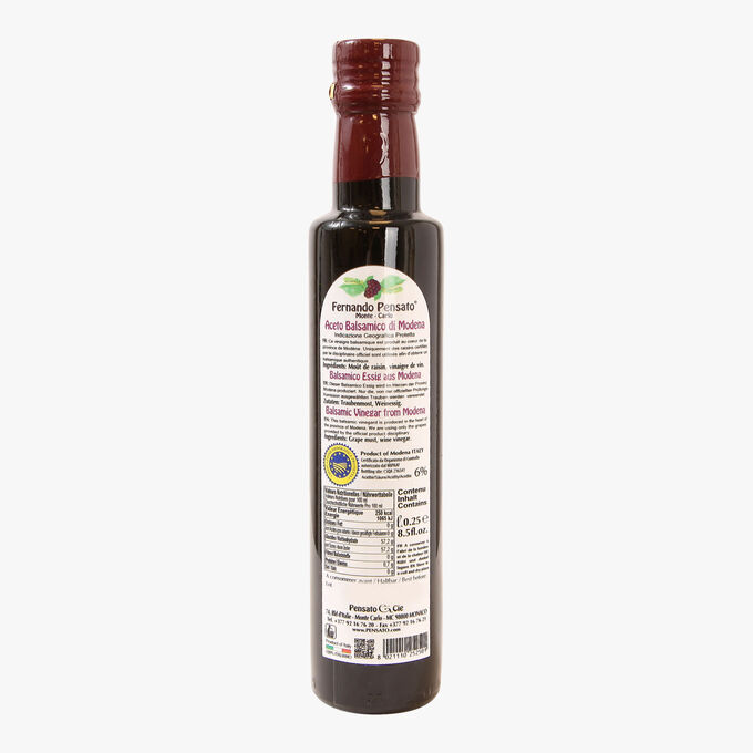 Vinaigre balsamique - Aceto Balsamico di Modena IGP Pensato
