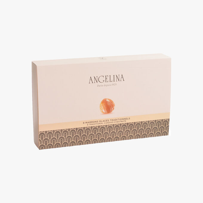8 marrons glacés traditionnels Angelina