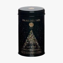 Le Thé Merveilleux, Green tea, caramelised almonds and pistachio nuts Palais des Thés