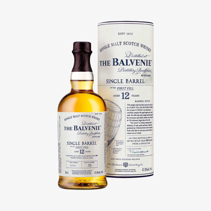 Whisky The Balvenie Single Barrel First Fill 12 ans The Balvenie