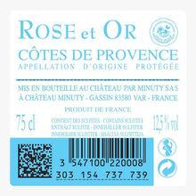 Château Minuty, AOP Côtes de Provence, Rose et or, 2020 Château Minuty