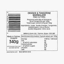 Marmelade d'oranges et mandarines, avec écorce fine Wilkin & Sons