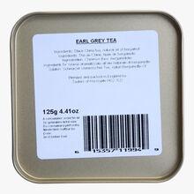 Earl Grey tea, metal tin Taylor's of Harrogate