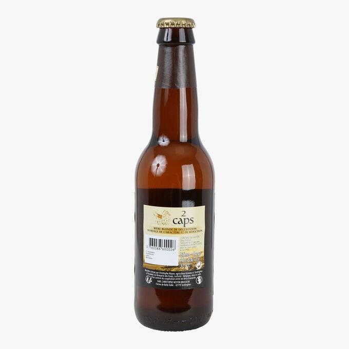 Bière blondes des 2 caps Christophe Noyon