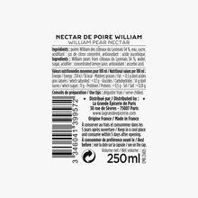 Le nectar de poire William des Coteaux du Lyonnais La Grande Épicerie de Paris