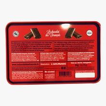 Crêpes dentelles bretonnes, chocolat noir Le chocolat des Français