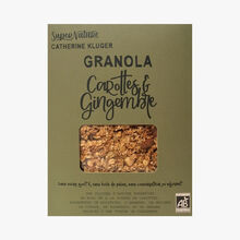 Granola with carrots and ginger SuperNature Catherine Kluger