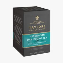 Afternoon Darjeeling black tea – 20 teabags Taylor's of Harrogate