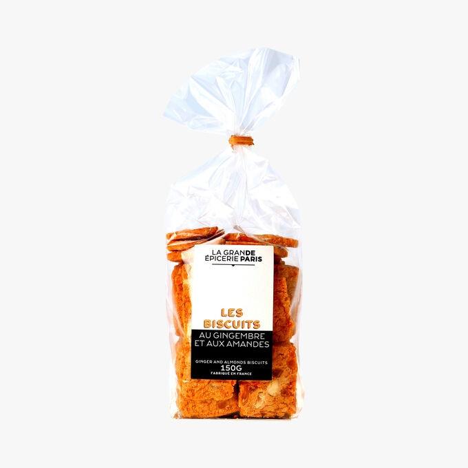 Les biscuits au gingembre et aux amandes La Grande Épicerie de Paris