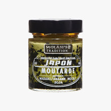 Japan-inspired mustard with wasabi, black sesame and soy flavours Savor & Sens