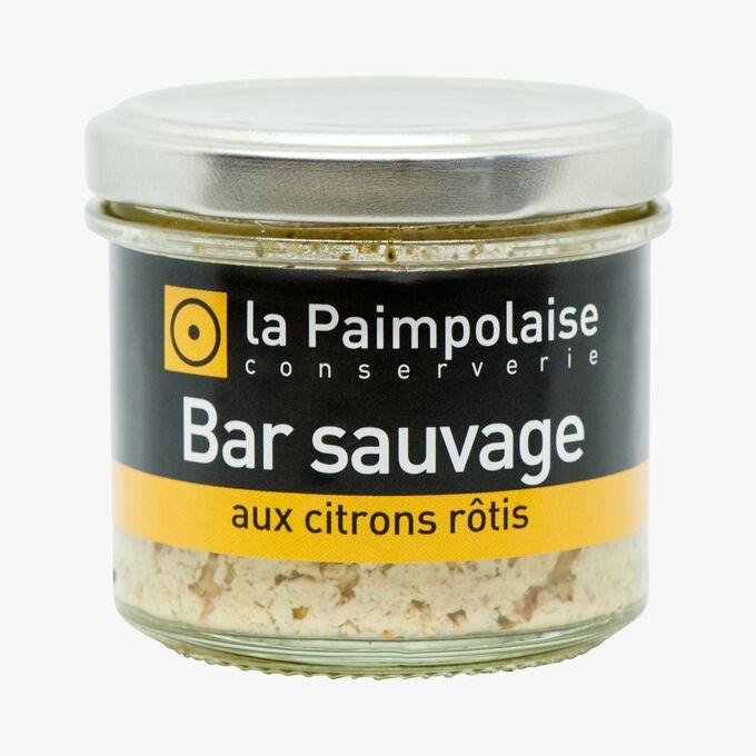 Bar sauvage aux citrons rôtis La Paimpolaise Conserverie