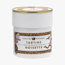 Tartine Noisette - Crème à tartiner noisette du Piémont Confiture Parisienne