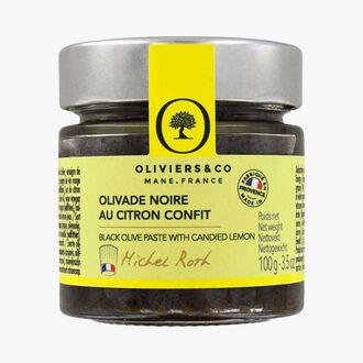 Black olives with lemon confit Oliviers & Co