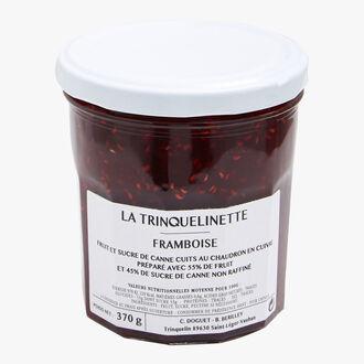 Confiture extra de framboise La Trinquelinette