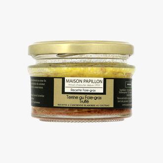 Terrine au foie gras truffé Maison Papillon