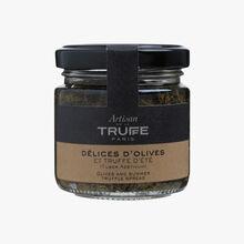 Olive and summer truffle spread (Tuber Aestivum) Artisan de la truffe