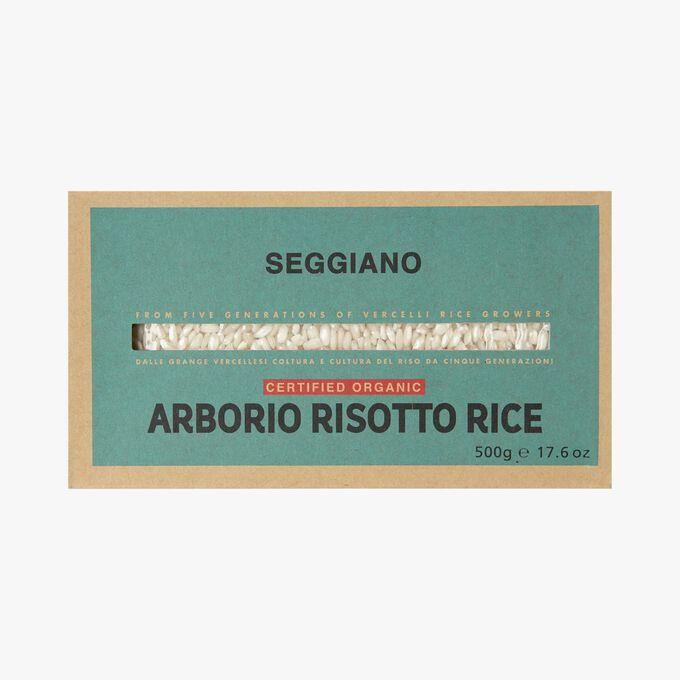 Organic Arborio rice for risotto Seggiano