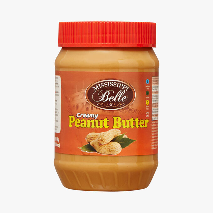 Creamy peanut butter Mississippi Belle