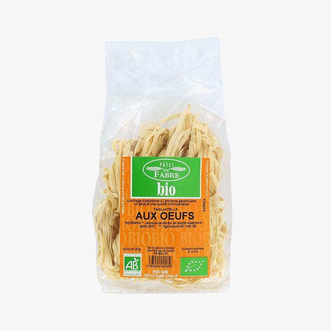 Organic egg tagliatelle Pâtes Fabre